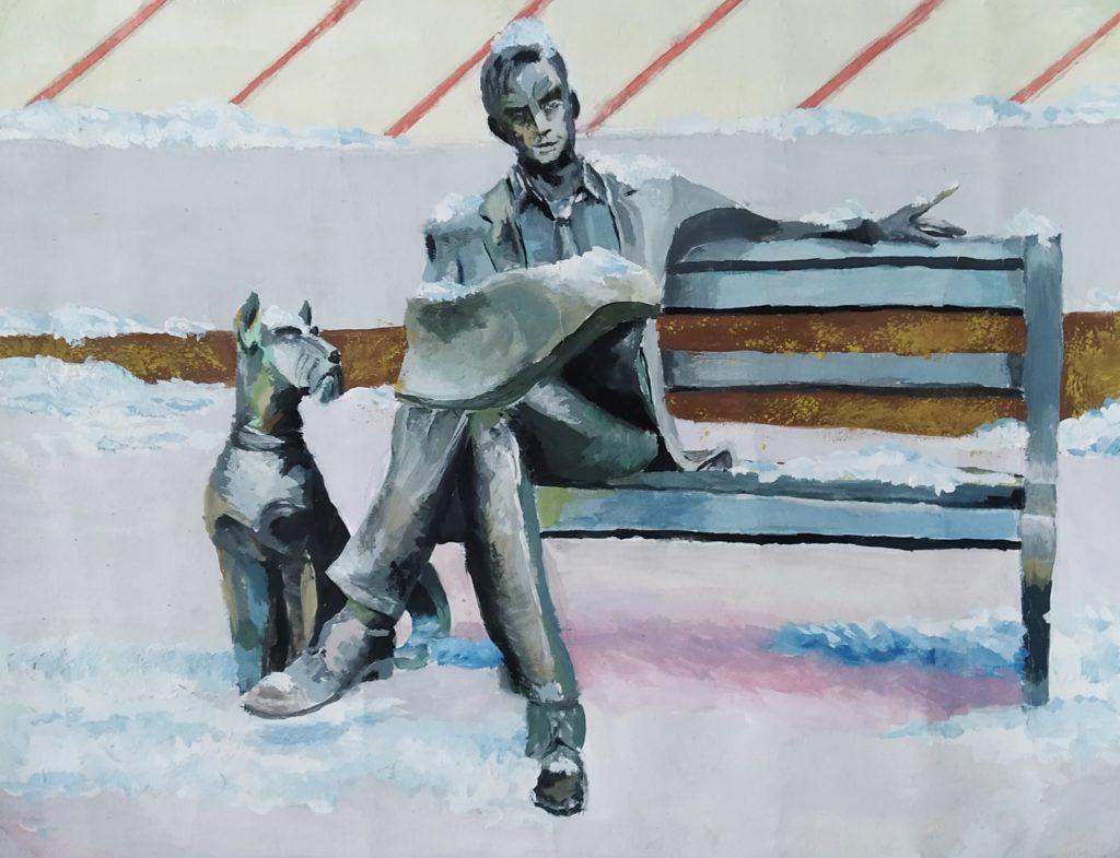 Памятник читателю газетыДиана Ерзуноваот 15 до 17 лет (включительно)