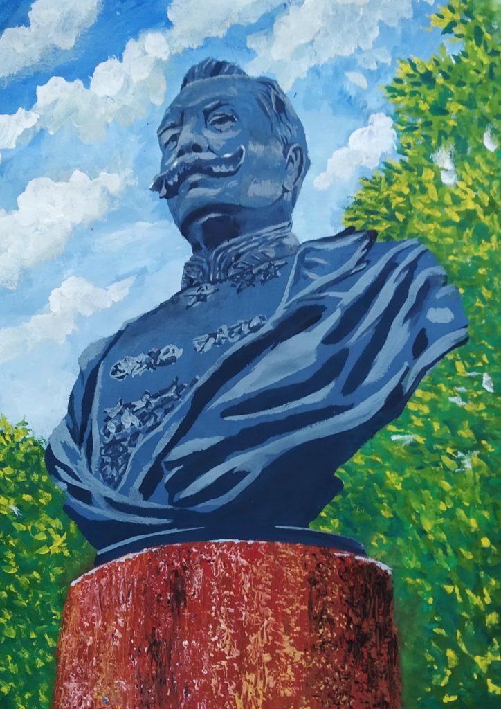 Памятник С.М.БуденномуДиана Нагибинаот 10 до 14 лет (включительно)