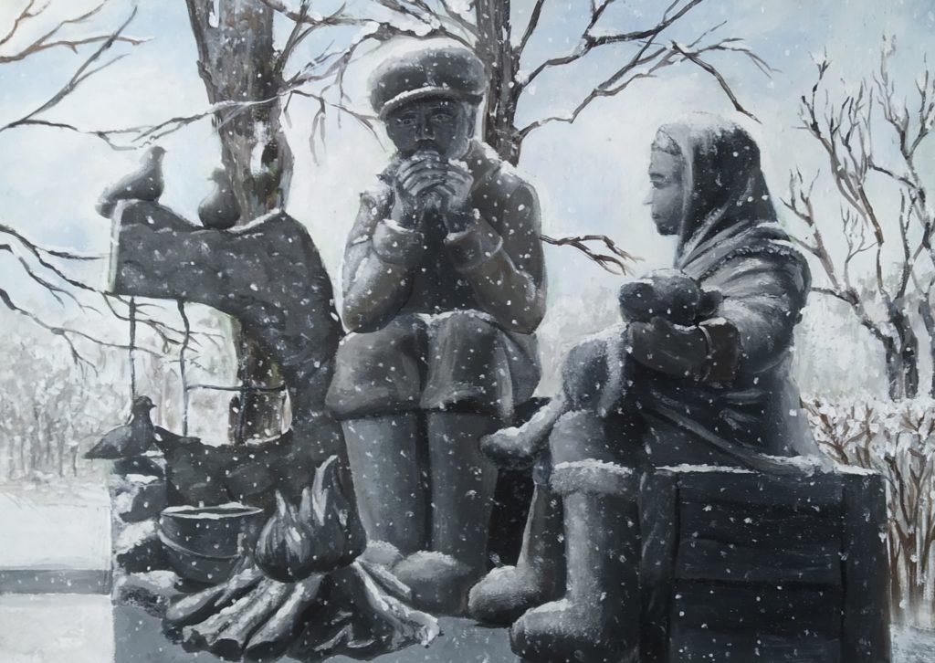 Памятник Детям войныАлиса Хрящеваот 15 до 17 лет (включительно)